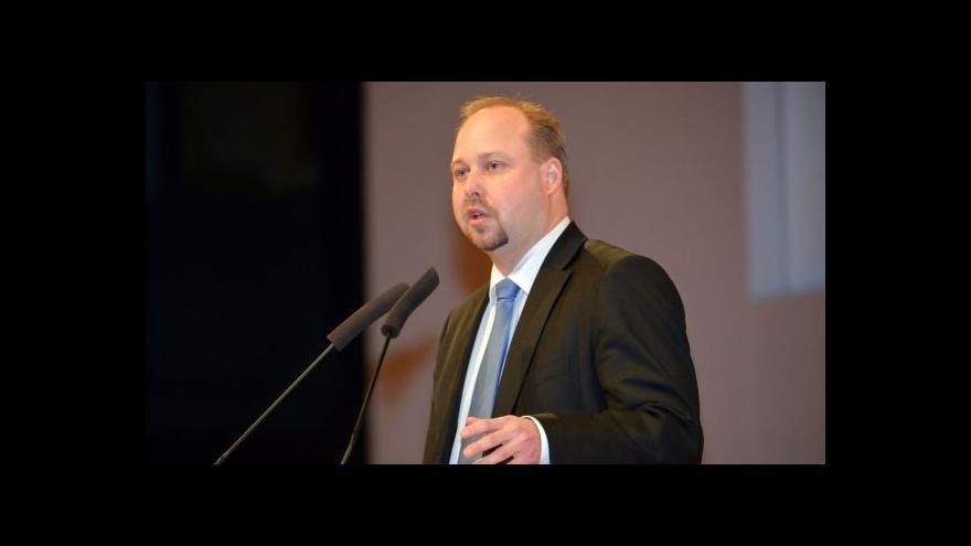 Video Tejc v projevu: Z jednoty se nesmí stát fetiš