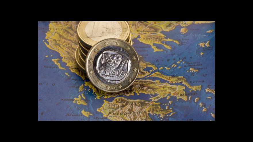 Video Řecký ministr varoval před odchodem Atén z eurozóny