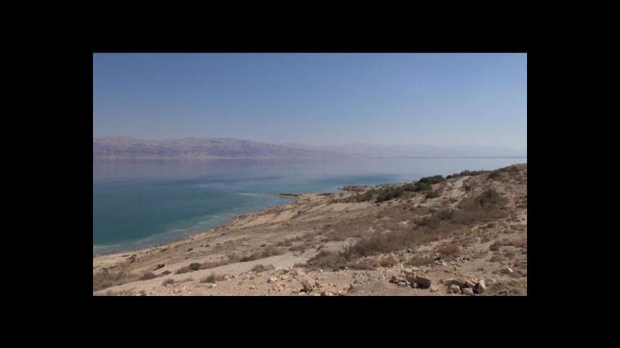 Video Události ČT: První fáze záchrany Mrtvého moře se rozbíhá