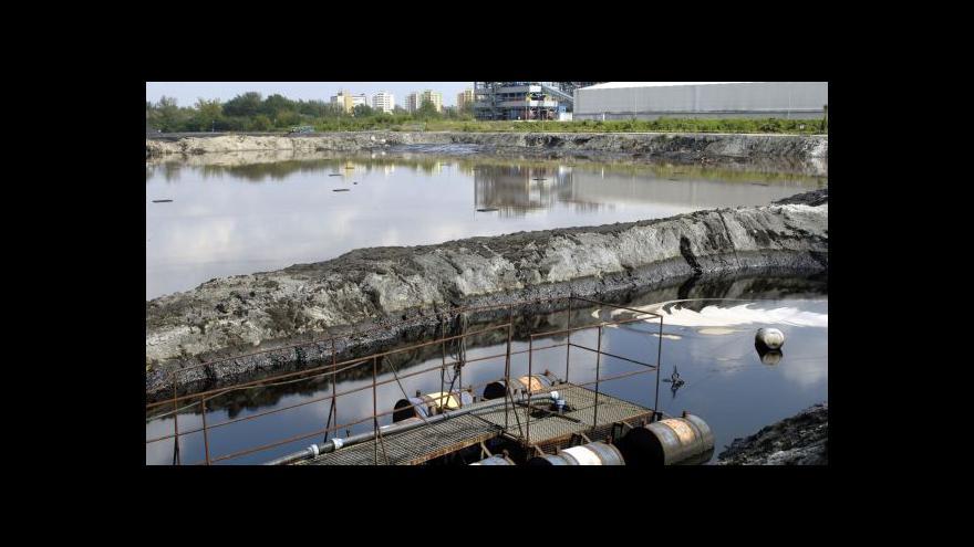 Video Události ČT: O zakázku likvidace ostravských kalů usiluje pět firem