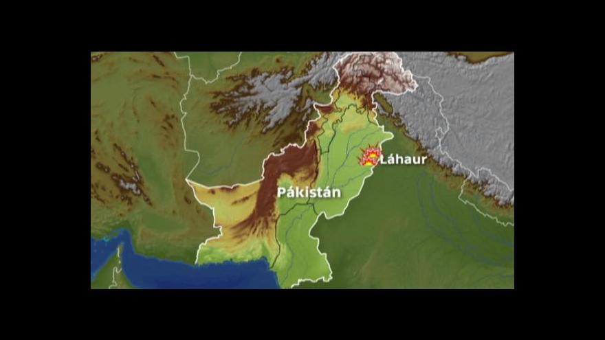 Video Bombový útok v pákistánských kostelech