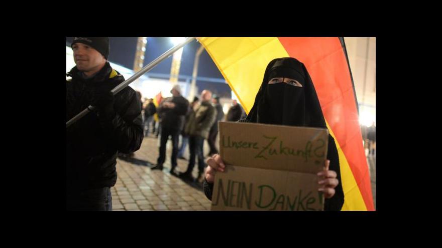 Video Německá Pegida opět sílí