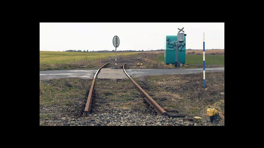 Video Oprava tratě na Kokořínsku se odsouvá