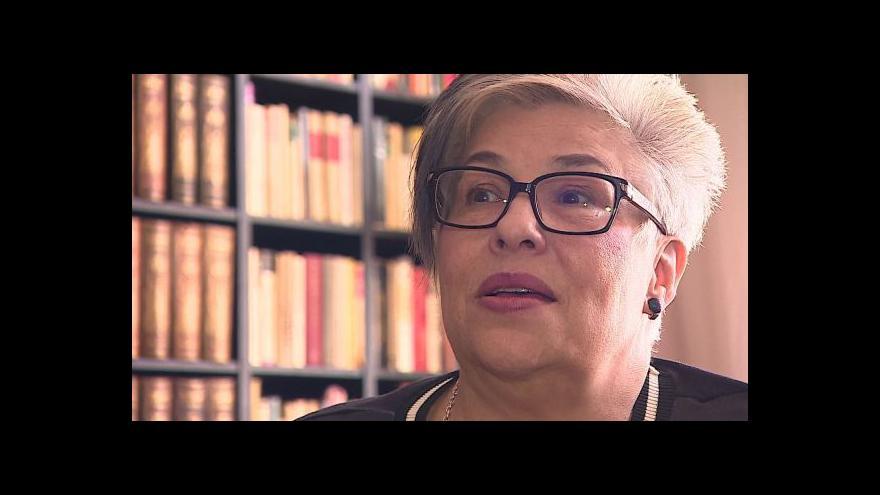 Video O roli profesionální pěstounky hovoří Luďka Kamenská