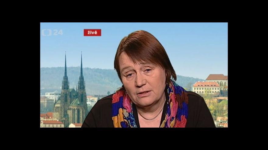 Video Ombudsmanka Anna Šabatová bilancuje