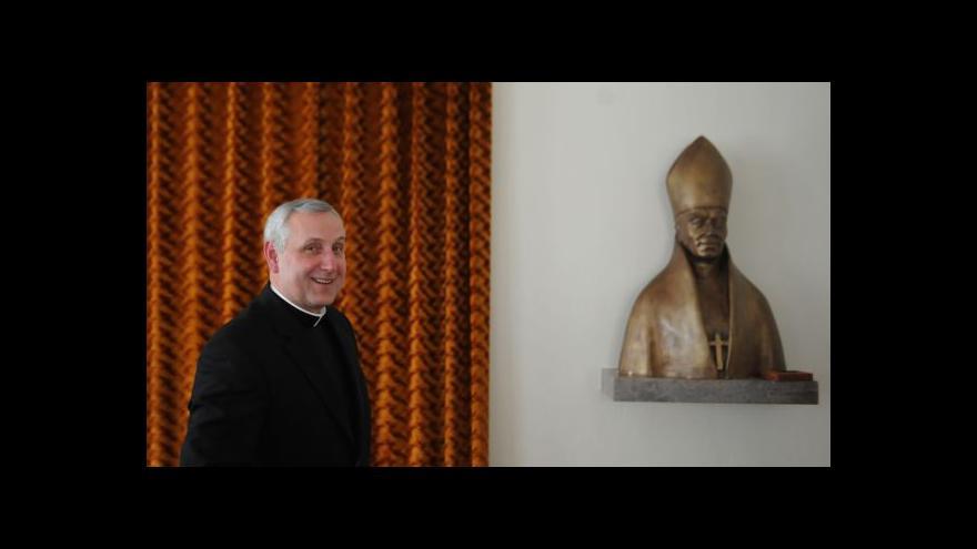 Video Českobudějovická diecéze má nového biskupa - Vlastimila Kročila