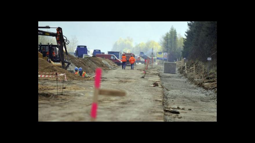 Video Události: Modernizace D1 pokračuje, nikoli bez komplikací