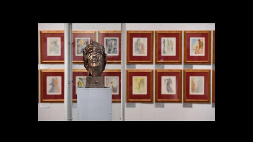 Video Vlastivědné muzeum v Olomouci vystavuje výběr z Dalího