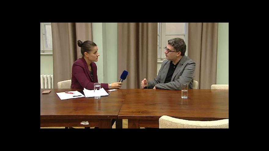 Video Exkluzivní rozhovor ČT s Markem Galeottim