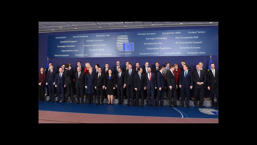 Video Summit EU: energetická unie ano, prodloužení sankcí ne