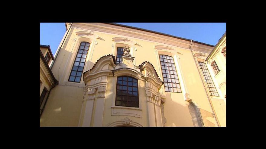 Video Zapomenutý kostel v centru Prahy čeká oživení