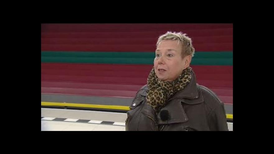 Video Světlana Lavičková: Jsem nejdéle sloužící hlas pražského metra