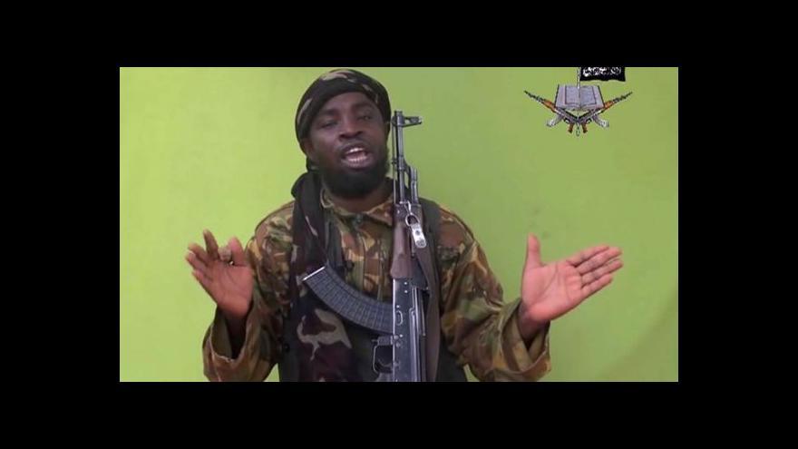 Video Horizont ČT24 o vůdci Boko Haram a boji s jeho hnutím