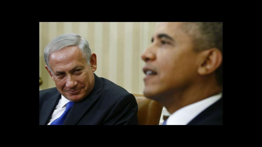 Video Napětí mezi Obamou a Netanjahuem nepolevuje