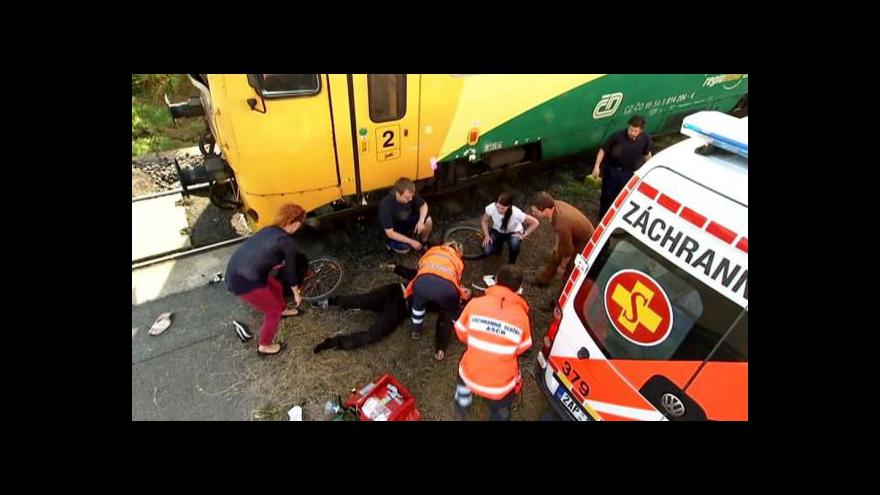 Video Události: Nová kampaň varuje před nebezpečím na kolejích