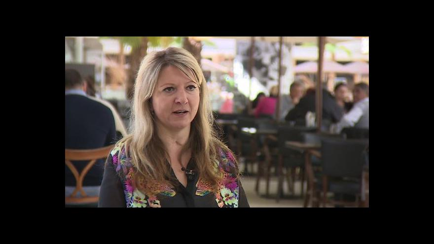Video Andrea Brzobohatá o prodělané meningokokové infekci
