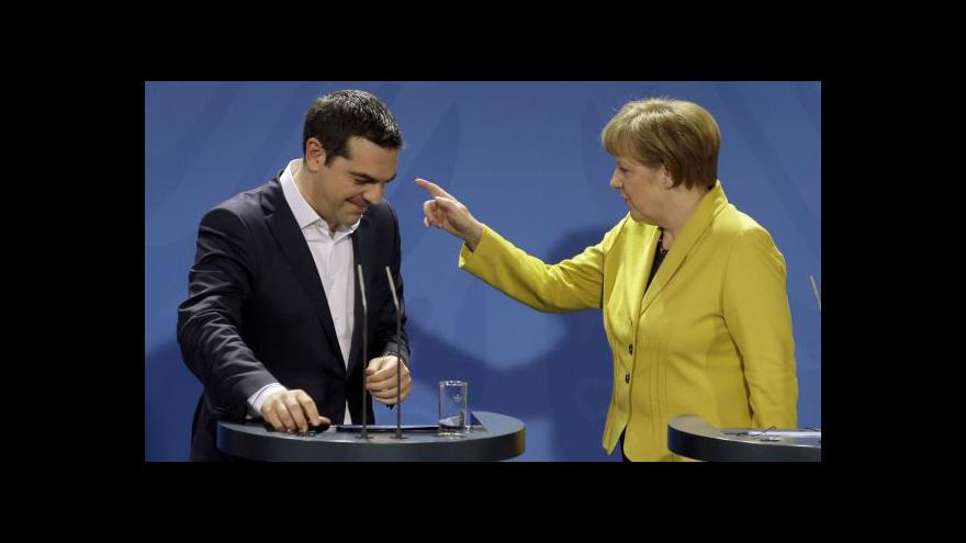 Video Tsipras: Záchranný program pro Řecko nebyl úspěšný