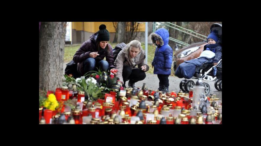 Video Uherský Brod měsíc po střelbě