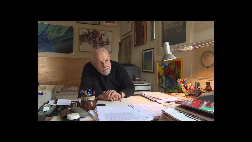 Video Na Bohuslava Fuchse vzpomíná architekt Ivan Ruller