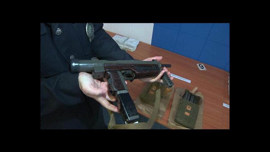 Video Nelegální zbrojní arzenál