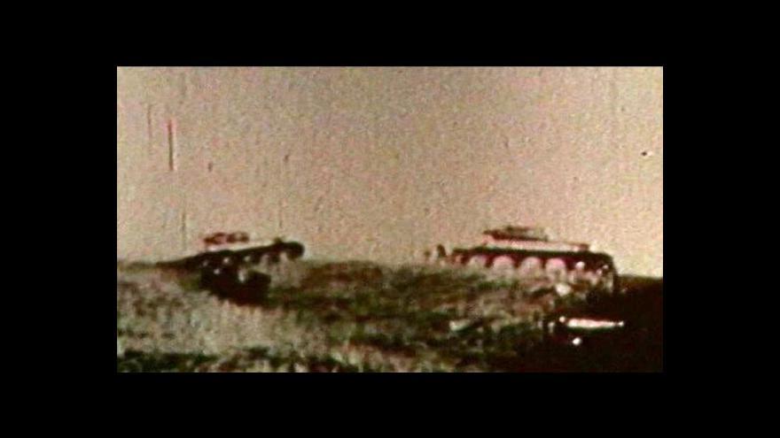 Video Českoslovenští tankisté se zapojili do boje o Ostravu v Polsku