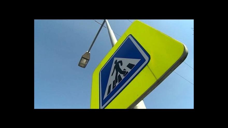 Video Olomoucký kraj bude dotovat úpravy přechodů pro chodce