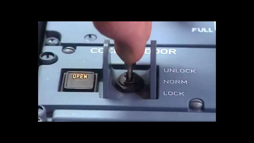 Video Jak fungují dveře do kokpitu airbusu (v angličtině)
