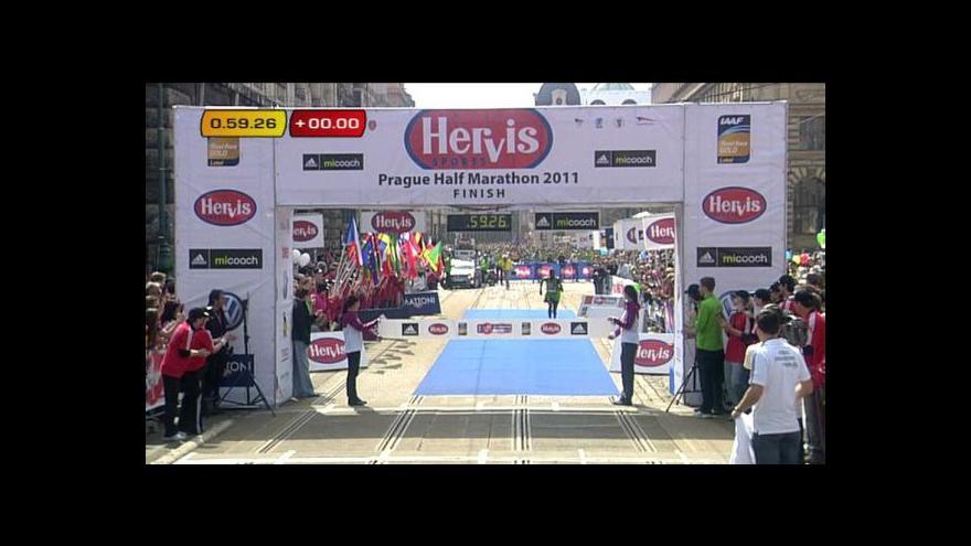 Video Start pražského půlmaratonu se blíží