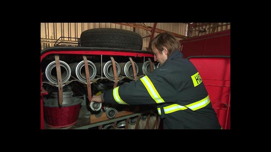 Video Potíže dobrovolných hasičů