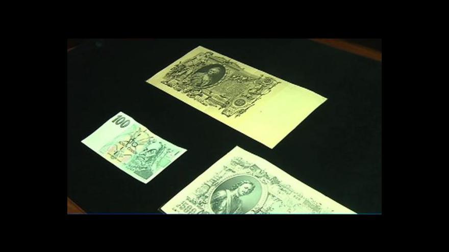 Video Kulhánkovy bankovky jsou prý nejkrásnější na světě