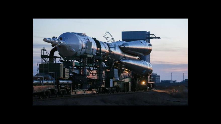 Video Sojuz odletěl s novou posádkou na ISS
