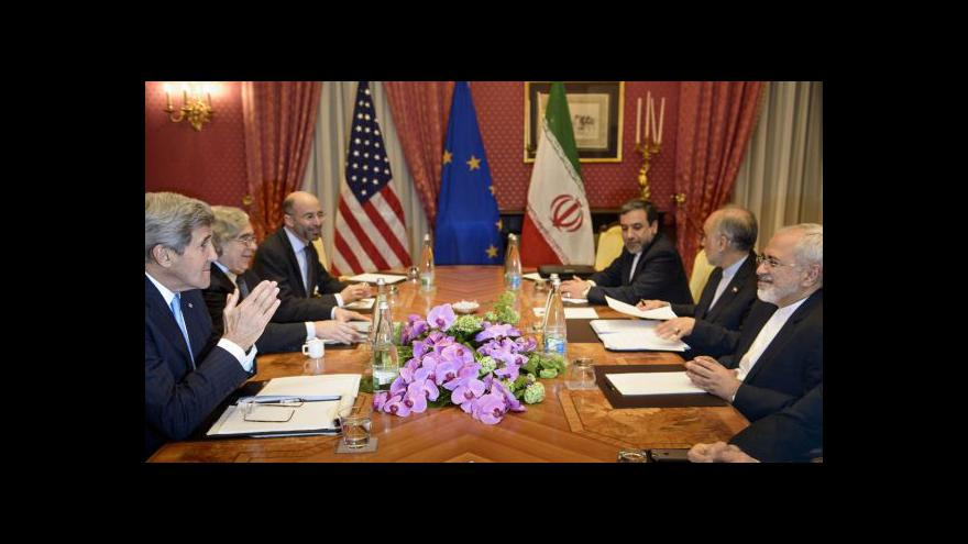 Video Jednání o omezení íránského jaderného programu