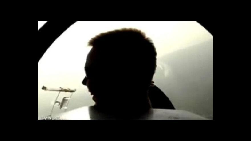 Video První video z Lubitzovy pilotní kariéry: výcvik na větroni