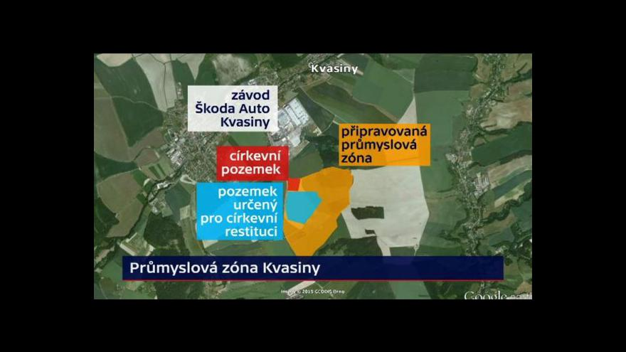 Video Církev asi zbrzdí stavbu u Kvasin