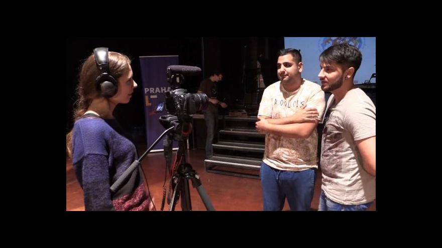 Video Přípravy koncertu k MDR