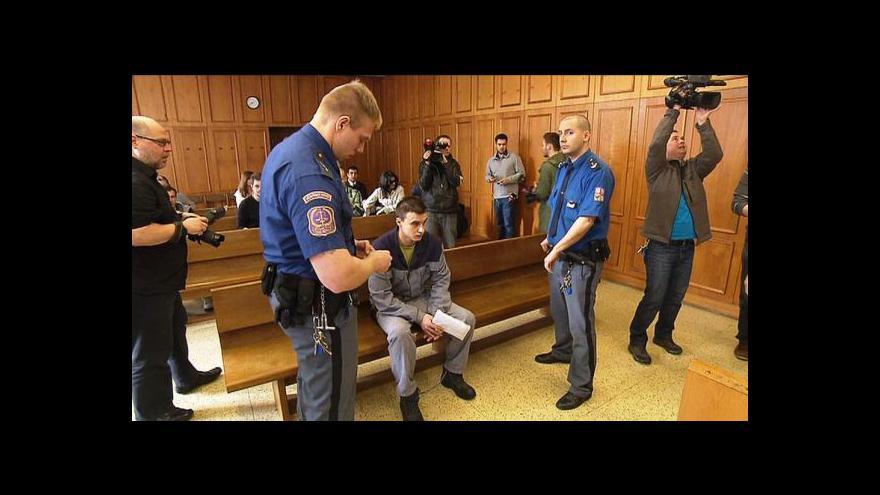 Video Mladý řidič soudu popisoval den, kdy zabil policistku