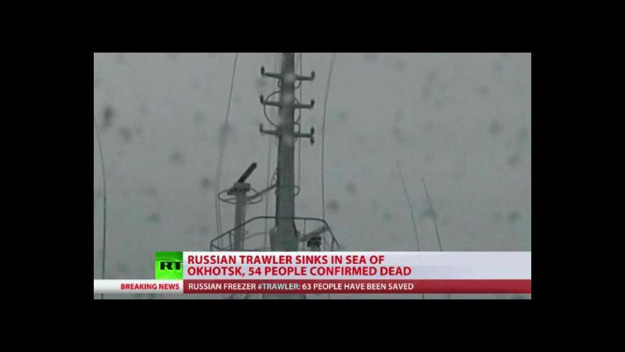 Video Experti zkoumají příčiny tragédie v Ochotském moři