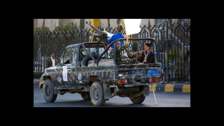 Video Zpravodaj ČT Jakub Szántó: Boje o Aden budou rozhodující