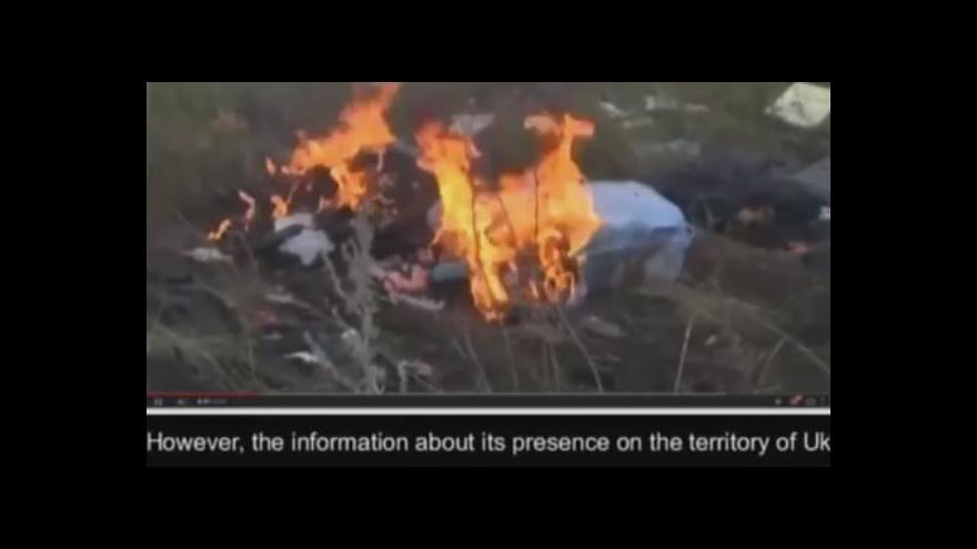 Video Odposlechy: Nahrávka ukrajinské SBU k tragédii MH17