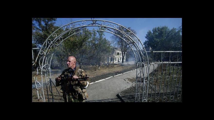 Video Ukrajinista: Rebelové se nudí, tak ostřelují