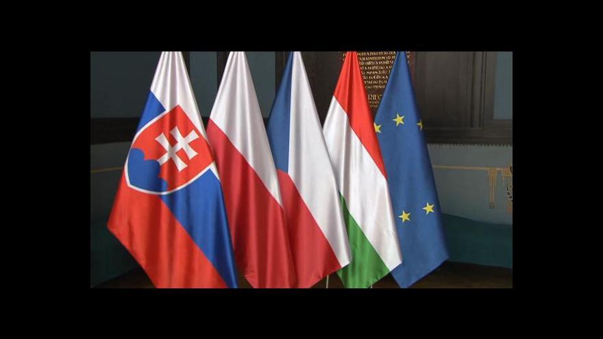 Video Visegrádská čtyřka: spolek, který pomáhá, aby se menší země v Unii prosadily
