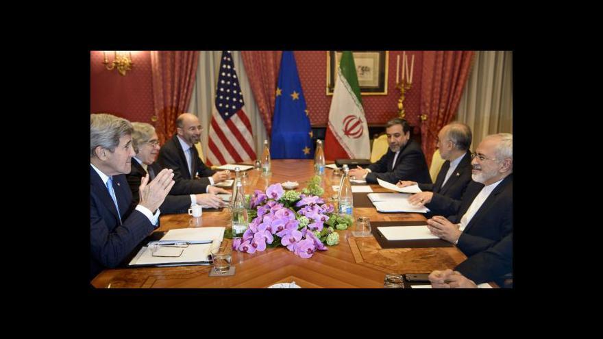 Video Írán i USA vidí v jaderné dohodě zlom