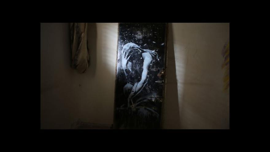 Video Banksyho dílo prodáno za pakatel