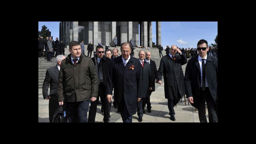 Video Lavrov v Bratislavě: Minské dohody jsou nejdůležitější