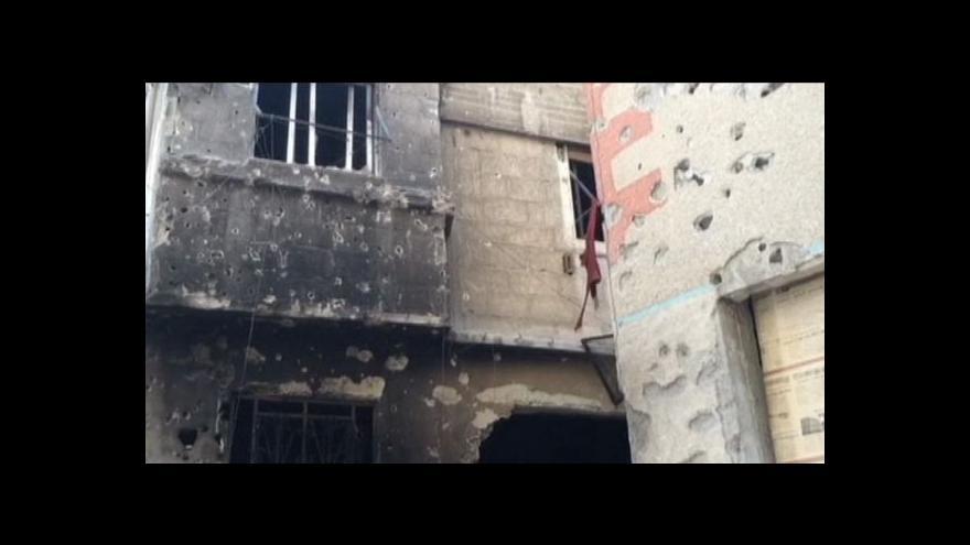 Video Zmar v uprchlickém táboře Jarmúk