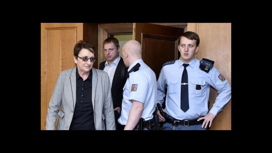 Video Salačová k rozsudku: Peněžitý trest je bolestivý