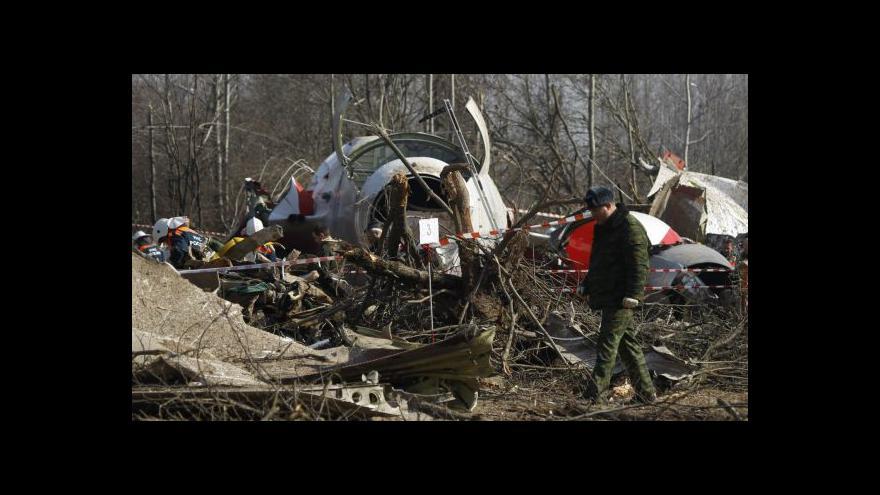 Video Zpravodaj ČRo: Poláci vnímají Smolensk velmi citlivě