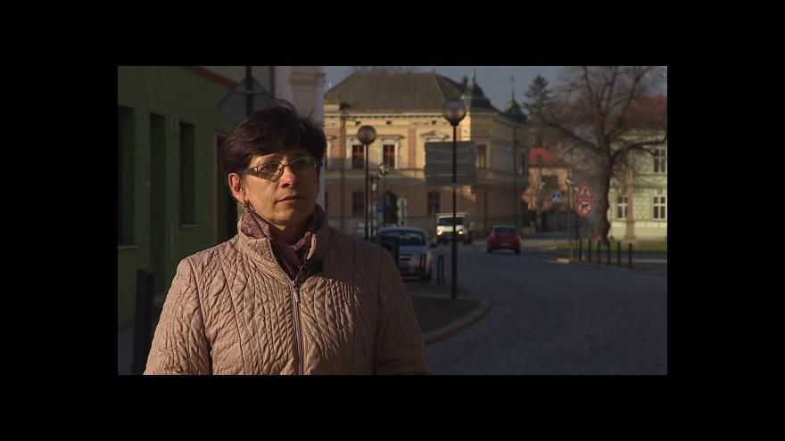 Video O příspěvcích na rekonstrukce hovoří starostka Hana Příleská (ČSSD)