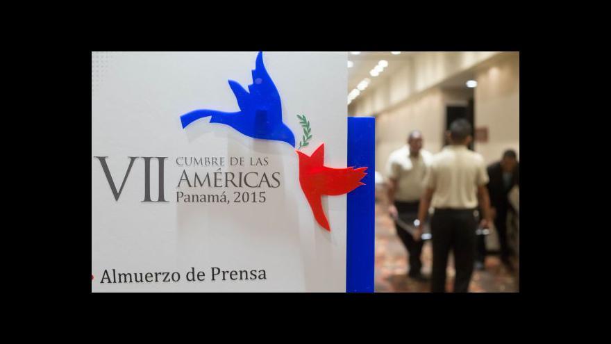 Video Historické setkání v Panamě