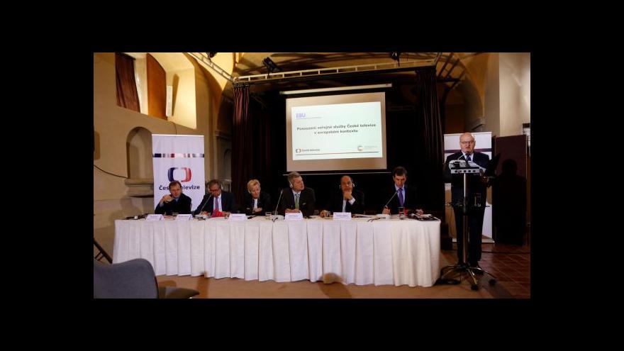 Video Záznam: seminář a diskuse EBU